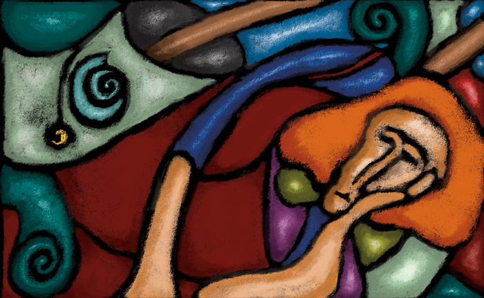 Woman Reclining II