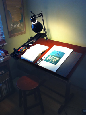 My New Drafting Table