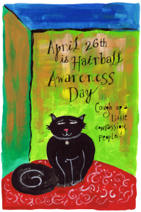 Hairball Awareness Day :: Foolish Fire