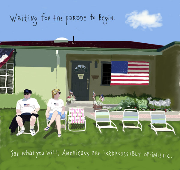 Americana :: Waiting for the Parade
