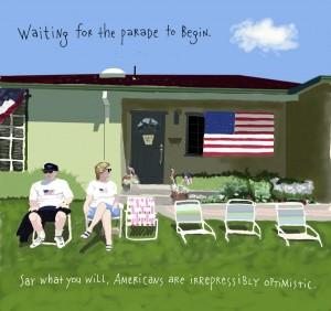 Waiting fior the Parade :: Americana