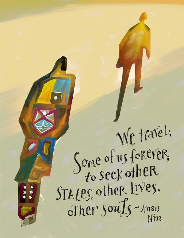 Illustration Friday :: Travel