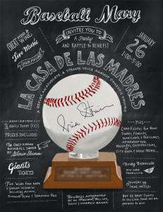 Baseball Mary Invite :: Foolish Fire