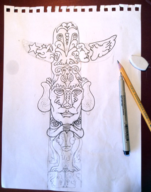 totem-in-progress